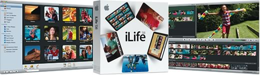 Apple iLife '08 con nuevas versiones de de iPhoto e iMovie
