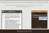 NotesTab Pro, una forma efectiva de tomar notas