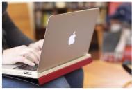 Un case en forma de libro para la MacBook Air