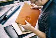 Fundas de lujo de cuero para MacBook Air y MacBook Pro de Calypso