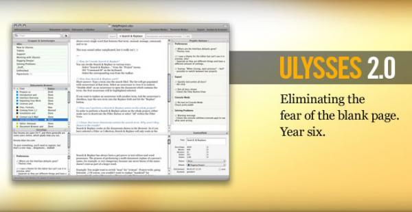 Ulysses 2 0 Un Programa Para Escribir Mactotal